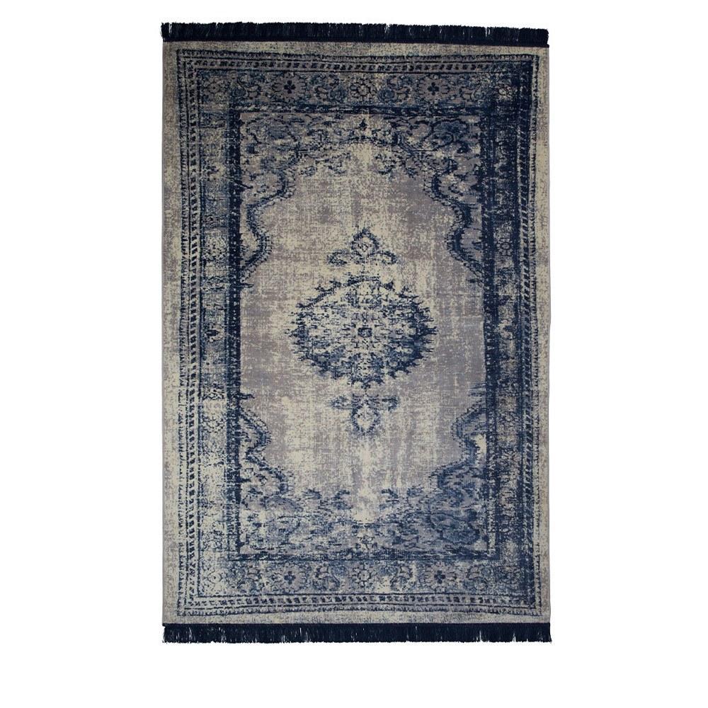 tapis marvel bleu