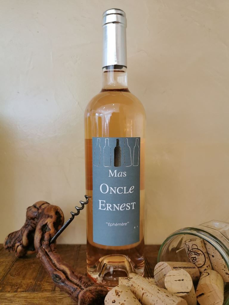 Rosé, Mas Oncle Ernest, Côtes du Ventoux, Cave à vin.