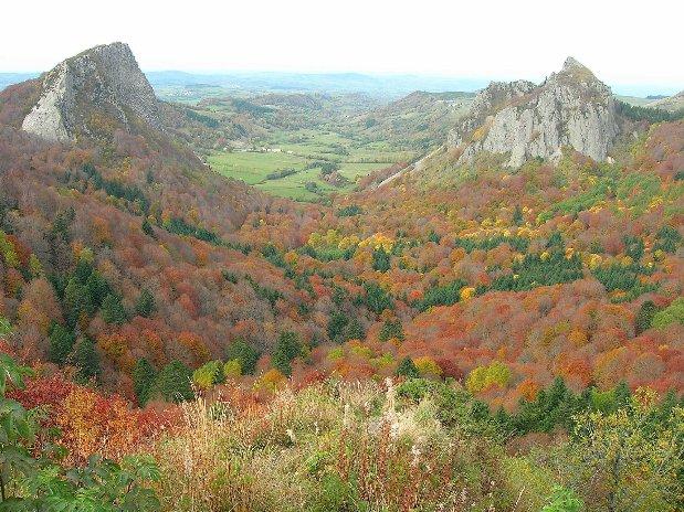 camping poutie - montagne - randonnées - auvergne - mont dore