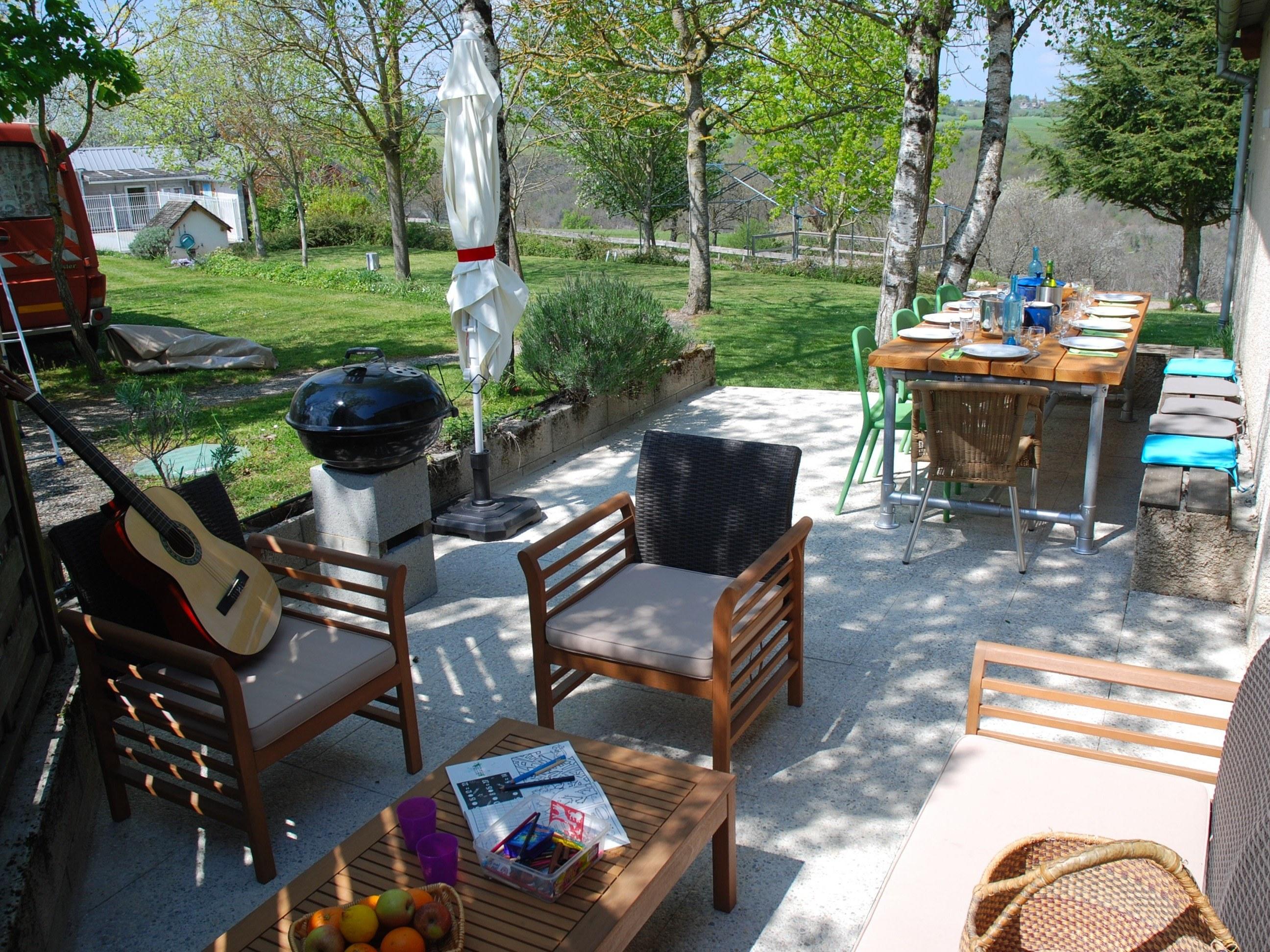 camping Le Clapas gîte Bellevue