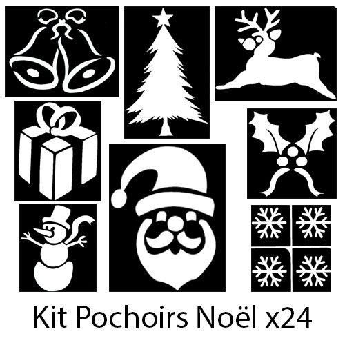 Kit pochoirs Noël