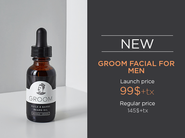 groom facial