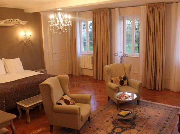Suite du Parc Loire Château Maison Hôtes Luxe