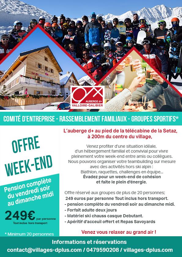 Offre Week-end