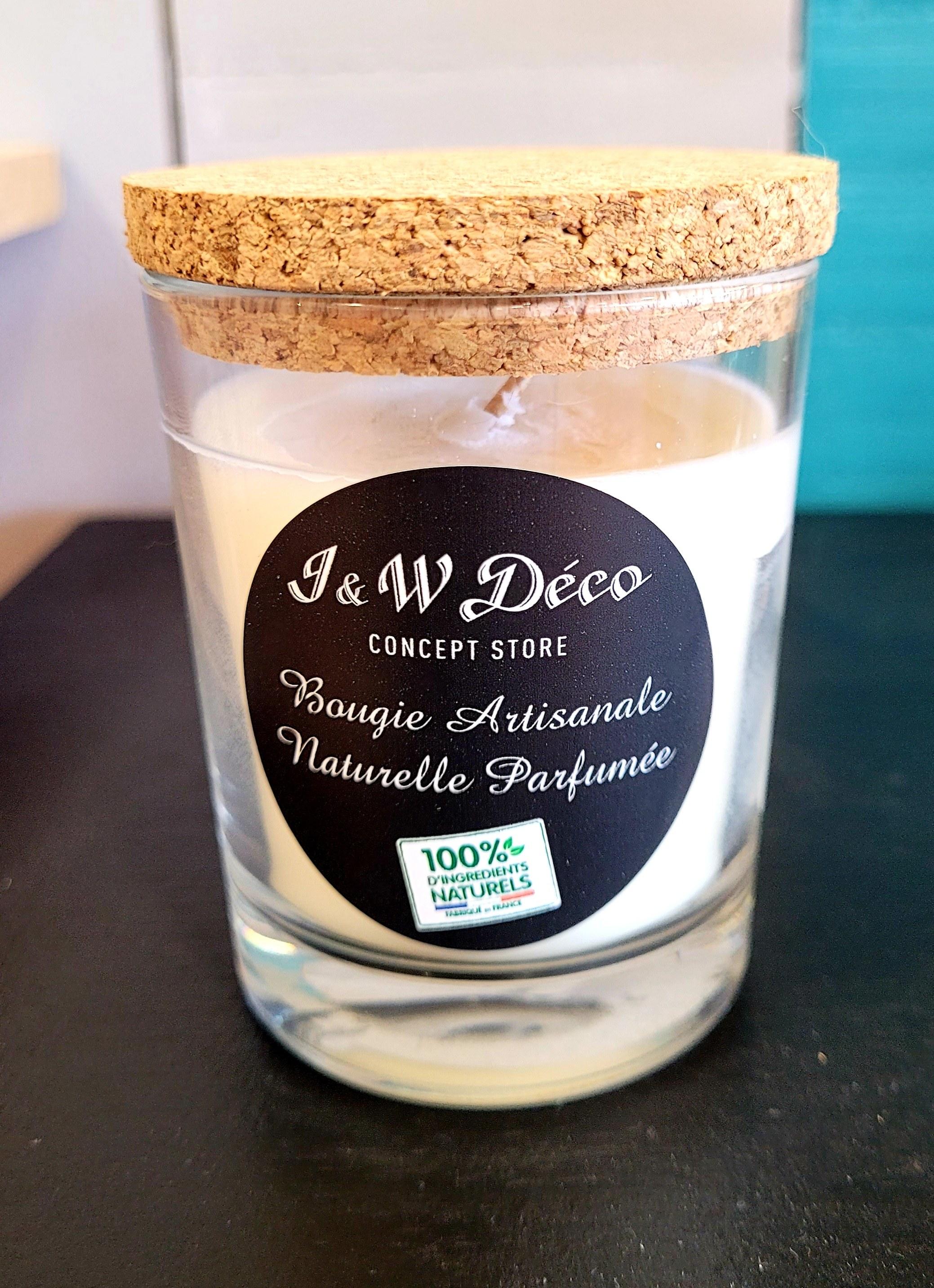 bougie artisanale naturel parfumée