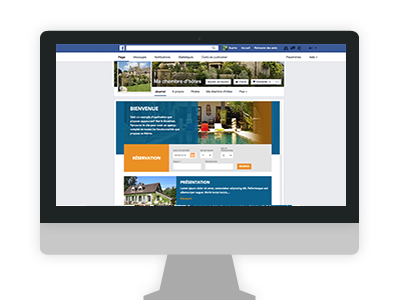 application facebook hotel