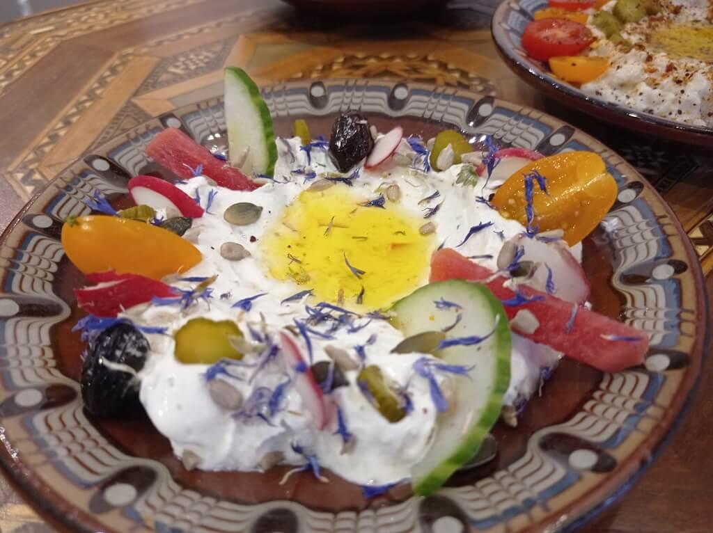 Salatit Labné Diwan : restaurant libanais à Poitiers
