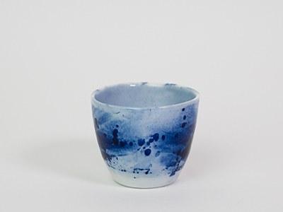 Tasse expresso BRILLANTE - Collection Ligne Bleue