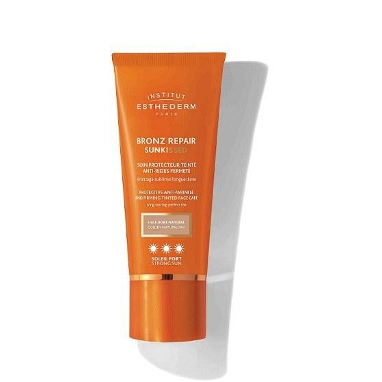 Bronz repair sunkissed crème visage anti-rides teintée