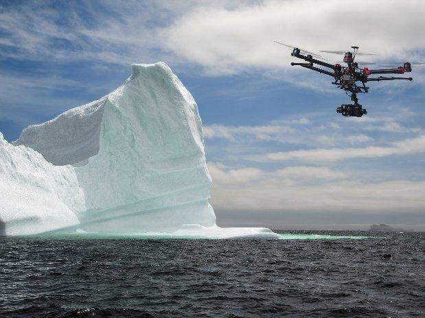 lidar-topographie-imagerie-aerienne-prises de vues aériennes-modélisation-cartographie-missions scientifiques protection environnement-iceberg