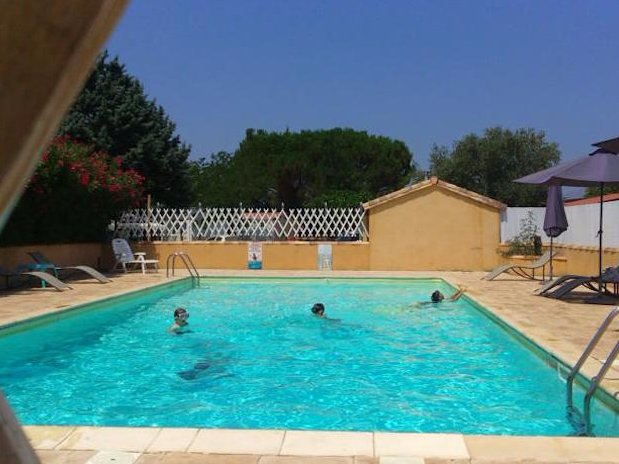 piscine Camping L'Olivier Anduze