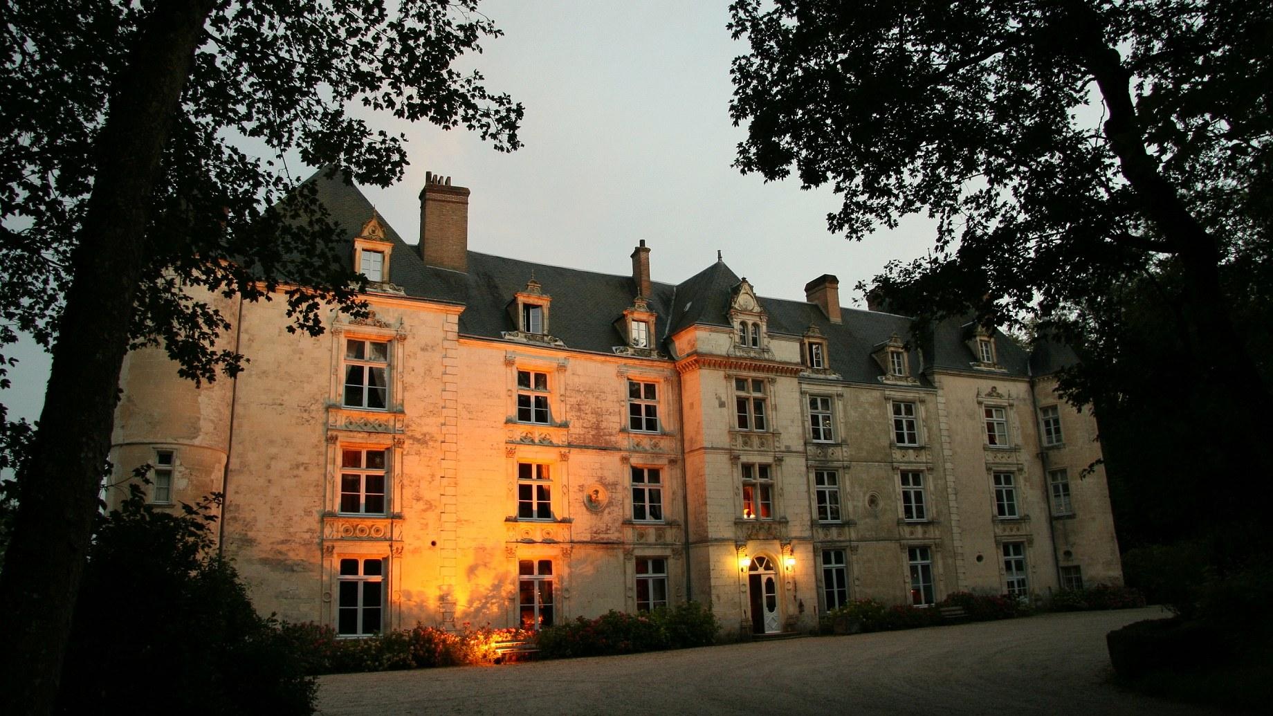 château nuit