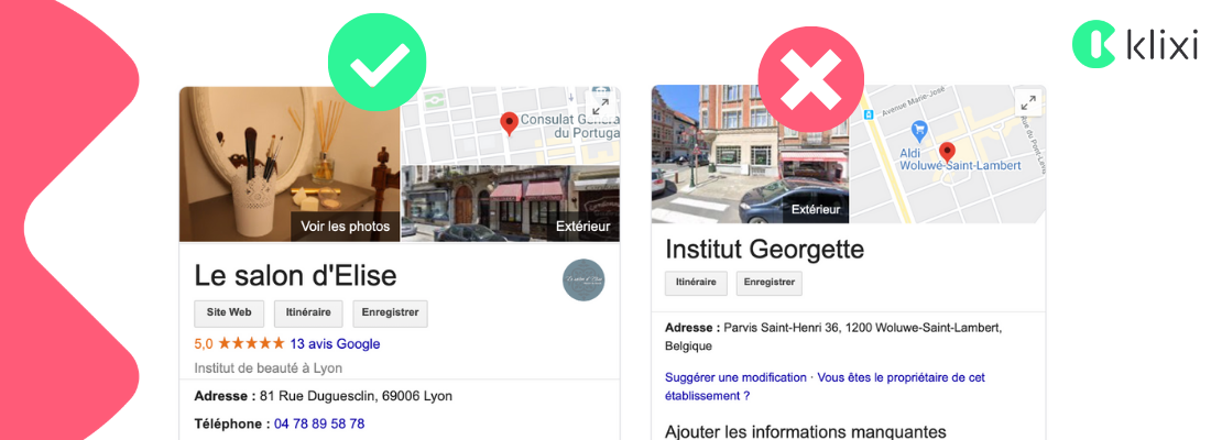 référencement local Google Photos