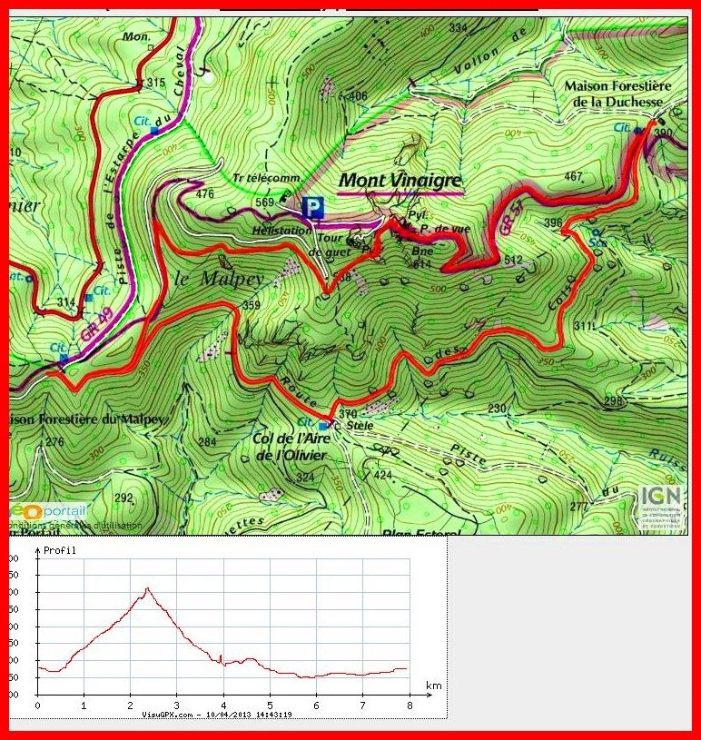 Le #Mont  #Vinaigre  ( à 20mn de la #chambres #d'hotes & #location de #vacances #LaPotinière)