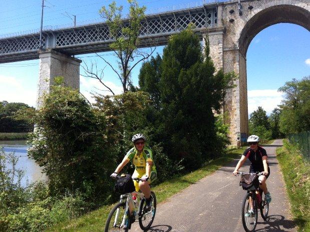 Vélo Voie Verte Romans Isère