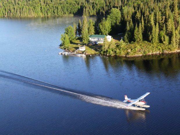 Seaplane adventure quebec mauricie