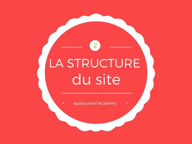 structure du site internet vidéo