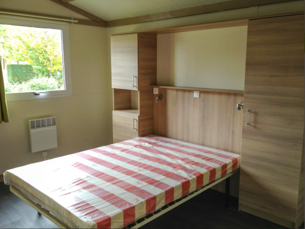 Mobil-home Amande chambre 1