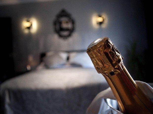 Champagne Chambre double Hotel Robinson