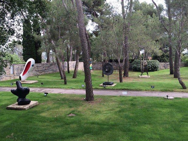 Jardin Fondation Maeght  Saint Paul de Vence