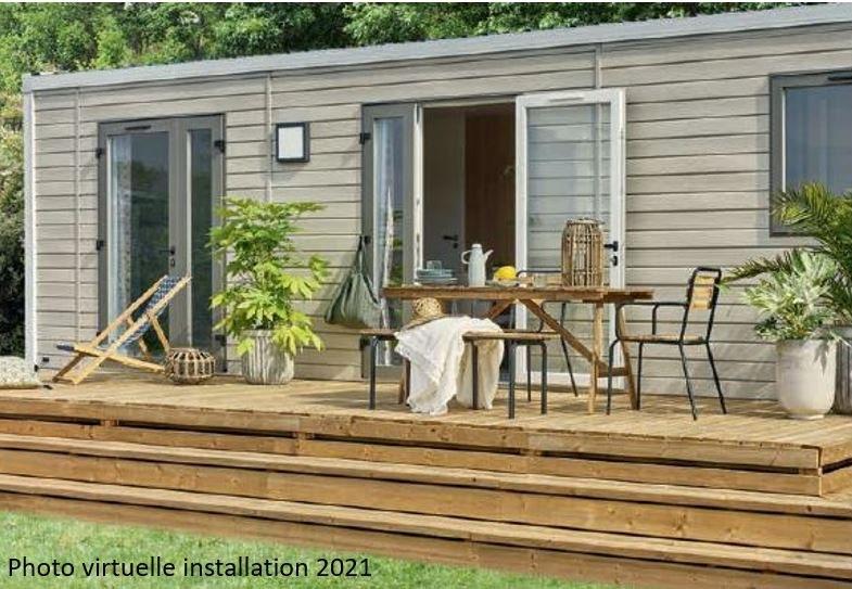loft premium + exterieur 01  - camping piscine familial proche ardeche gorges