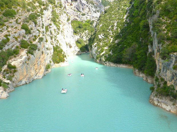 gorges du verdon - canyon - castellane - canoe