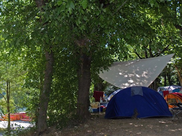 tentes camping Ardèche