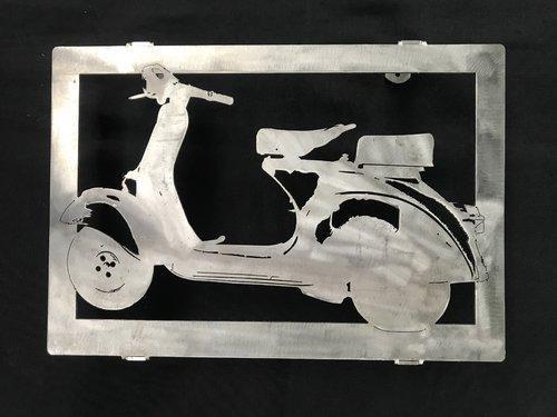 Tableau ou dessous de plat scooter VESPA