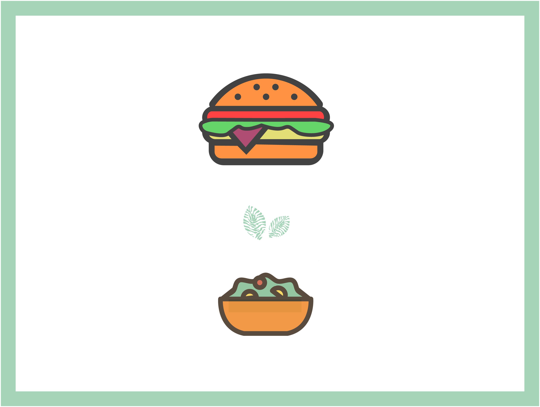 Formule entrée + burger