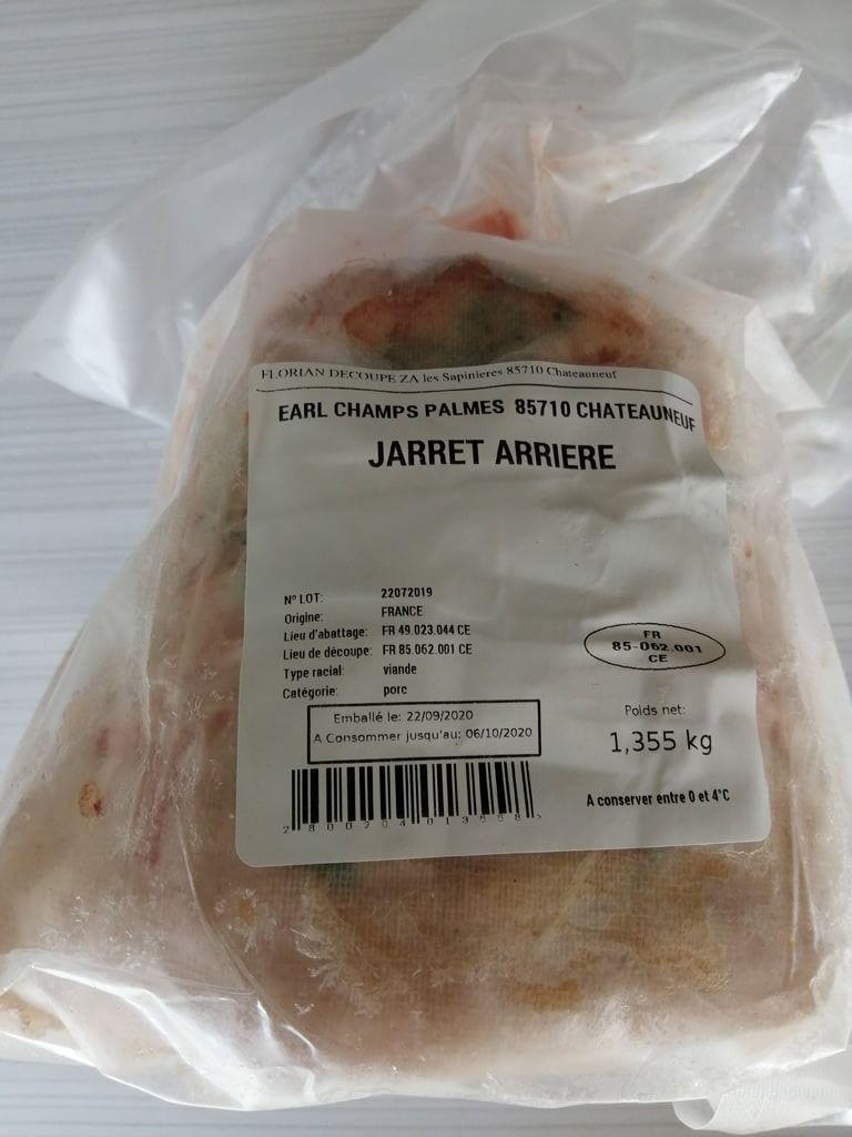 jarret_1 Au Cochon Pailleux Exploitation Agricole à Châteuneuf