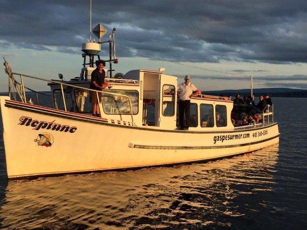 Croisière Gaspé sur mer