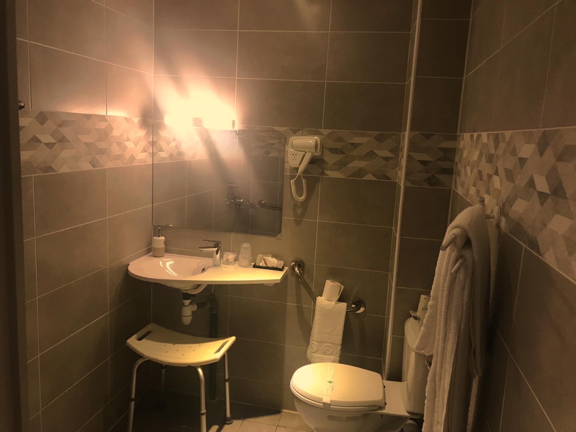 hotel-chateau gaillard-chambre lits jumeaux