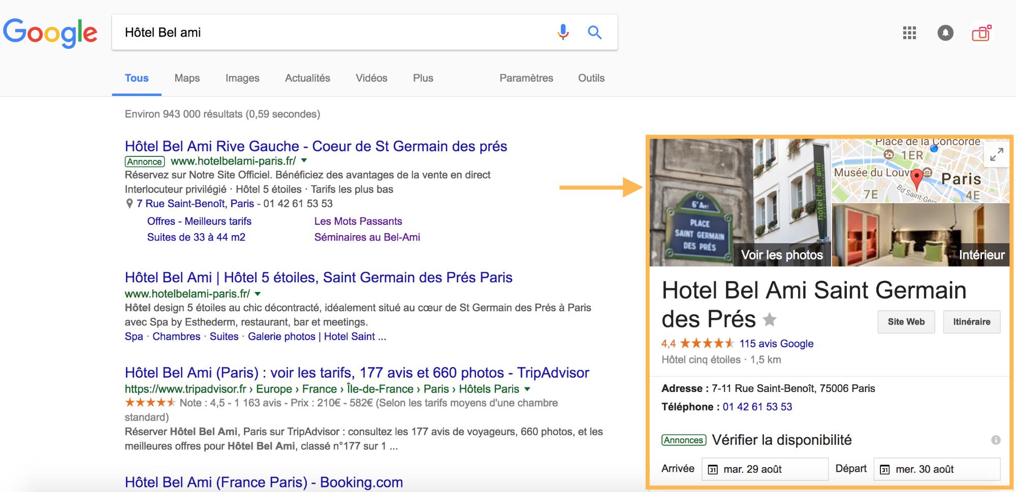 Qu Est Ce Que Google Hotel Ads Blog De Appyourself Boite A