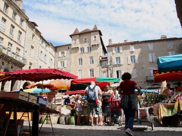Villefranche de Rouergue, großen regionalen Markt