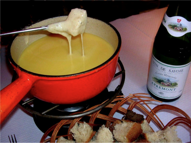 fondue restaurant La Grange Saint Michel Paris