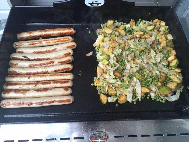 plats cuits à la plancha