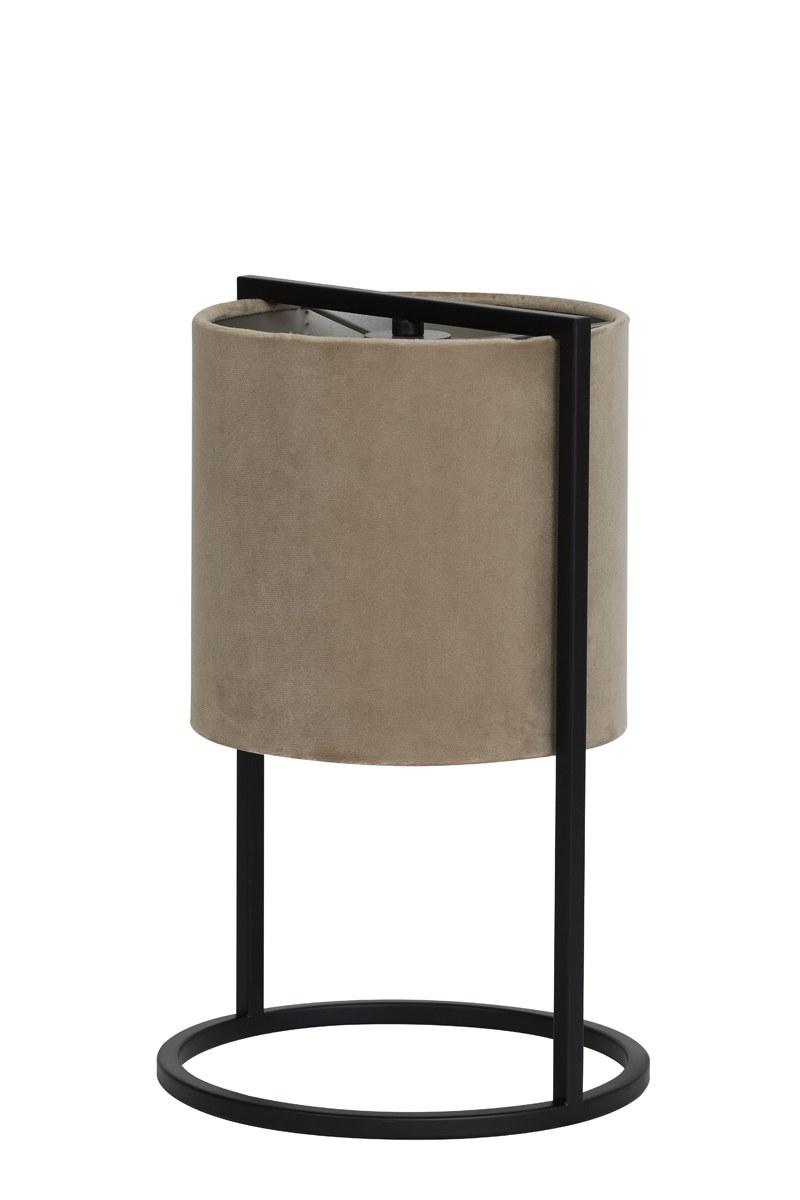 lampe santos brun gris