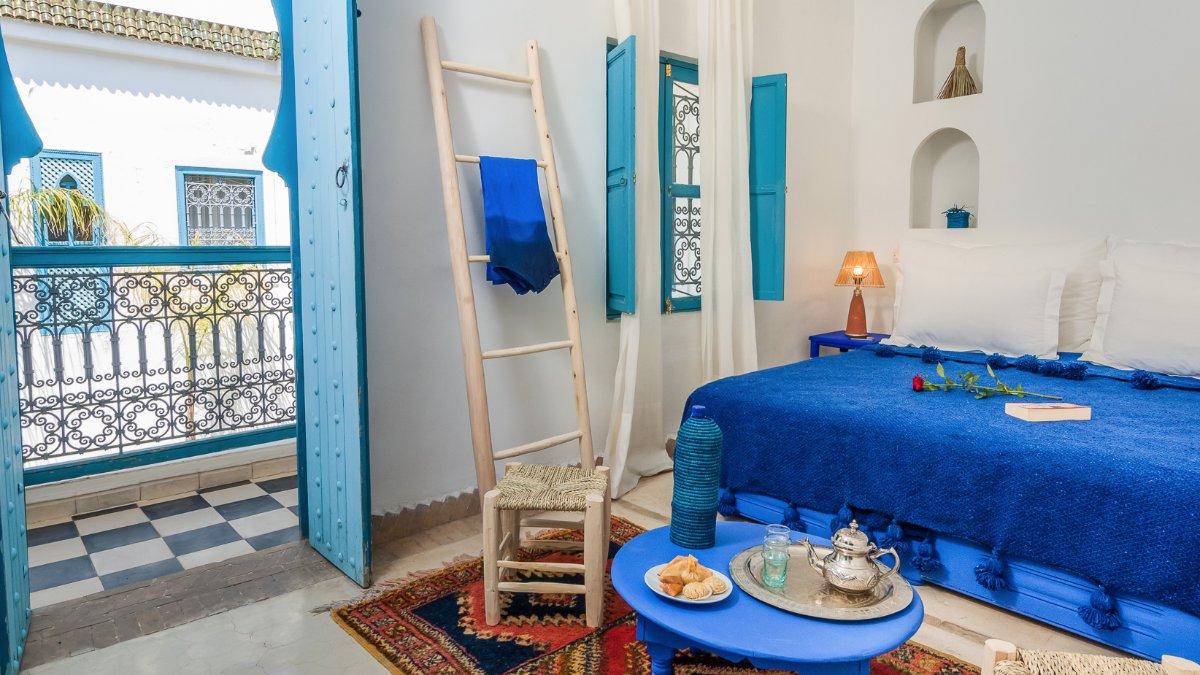 Chambre Riad Chamali Marrakech Maroc
