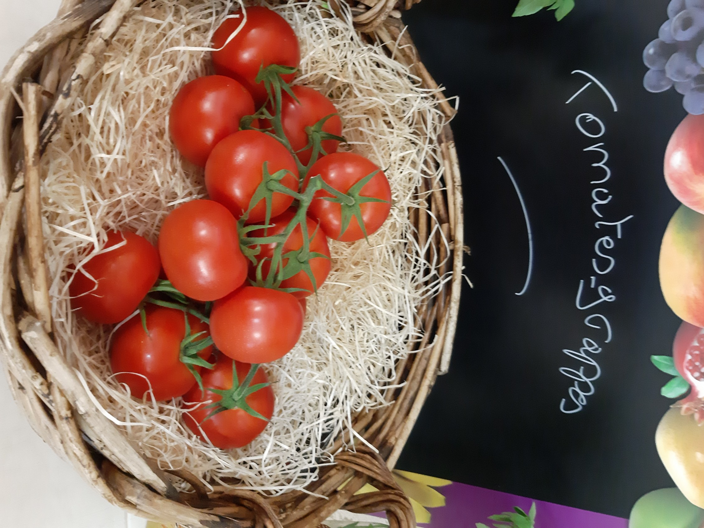 tomates grappes