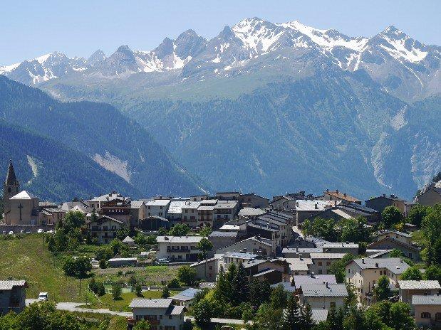 Aussois village en Vanoise Savoie