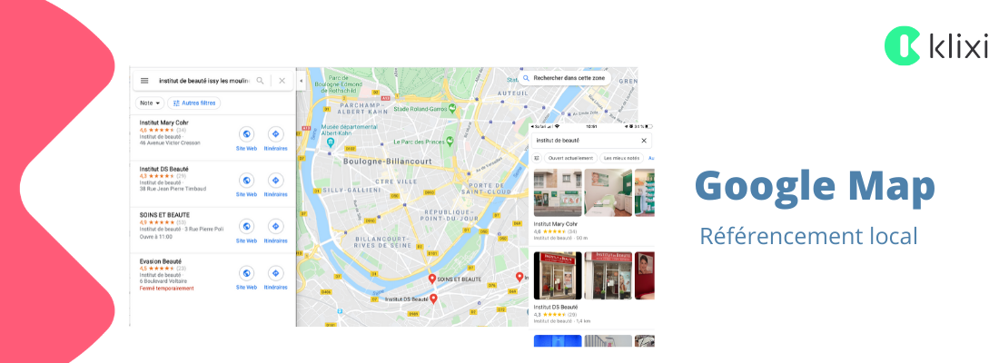 Référencement local Google Map