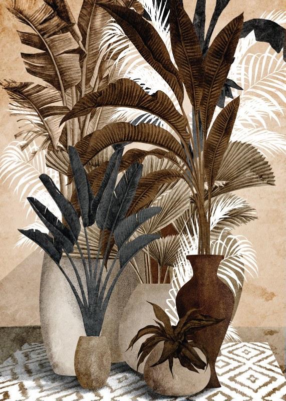 tableau exotic plantes 2.