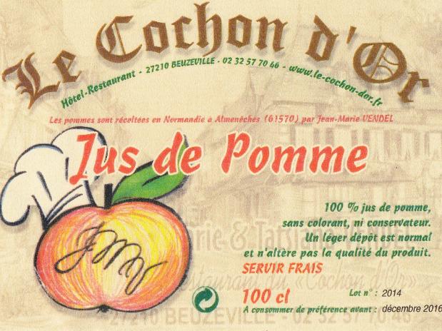 Boutique-restaurant-Cochon-d'or-Beuzeville-Attestation