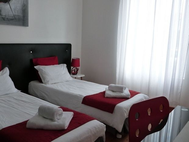 Chambre Coquelicot en configuration 2 lits