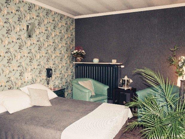 Lit Chambre Turquoise Love Hotel Robinson Ville-Pommerœul (Bernissart)