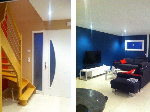 hall d 39 entr e conseils artisan peintre decorateur nantes de la vie couleur artisan peintre. Black Bedroom Furniture Sets. Home Design Ideas