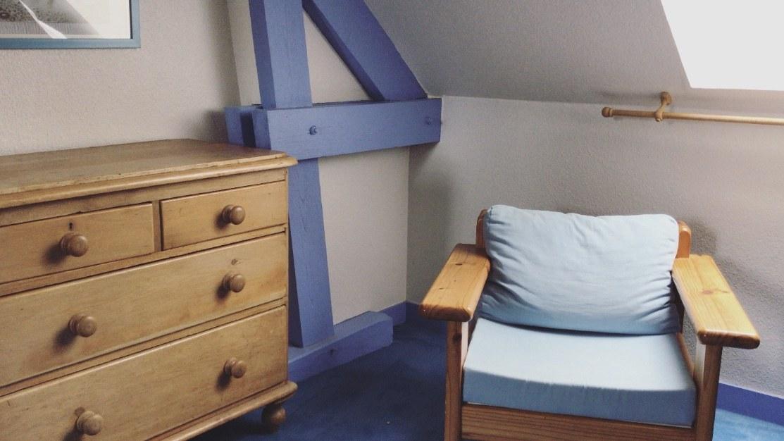 Suite Bleue à La Ferme de la Maugerie