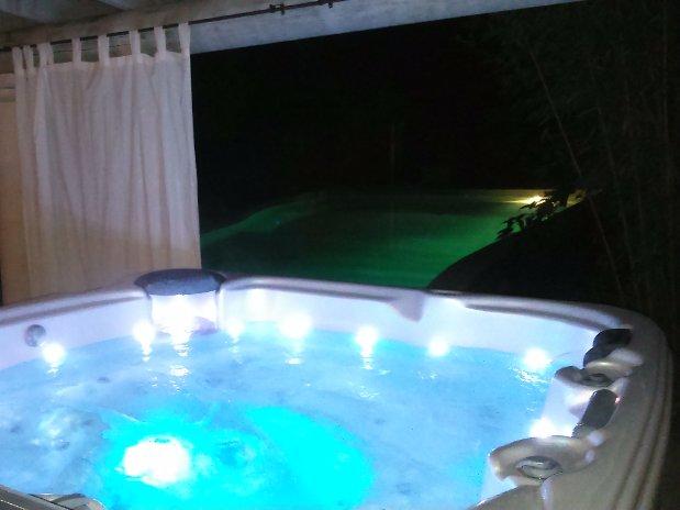 La Bastide des Pins piscine spa