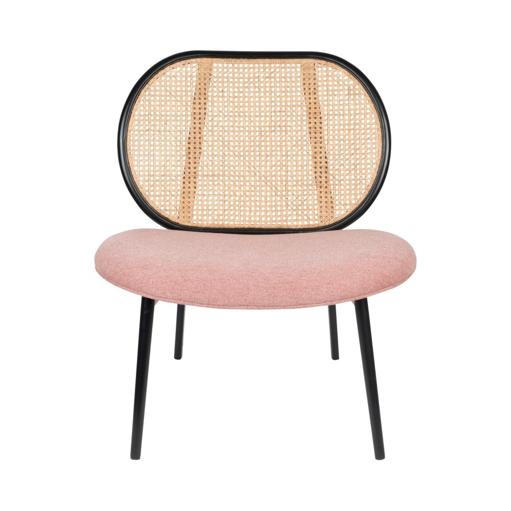 fauteuil lounge rose 1