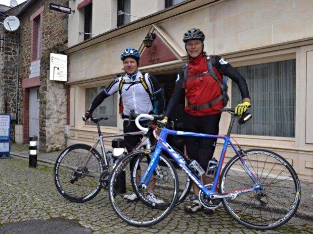 Cycliste Vélo Rando